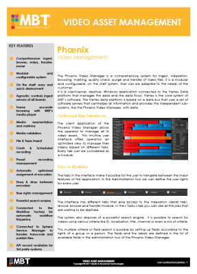Phoenix - Video Asset Management